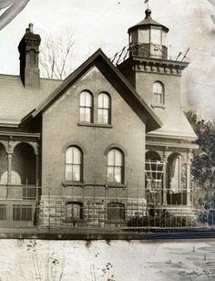 The Belle Isle lighthouse in 1924 ((The Detroit News)/)    From The Detroit News: http://www.detroitnews.com/article/20120724/METRO01/207240419#ixzz23j81vys4
