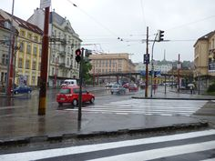 It's a grey and gloomy day in #Bratislava, #Slovakia. The forecast today is rain all day, with a high of 8°C (46°F).
