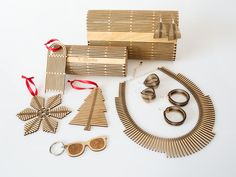 Simple products and a simple material re-imagined to create unique everyday items for personal use.