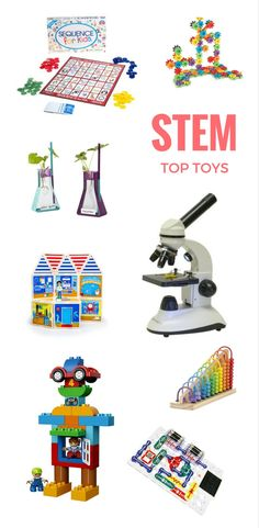 2016 Best STEM Toy Guide Grouped By Age | Science-based