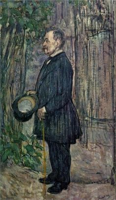 Henri Dihau - Henri de Toulouse-Lautrec, 1891