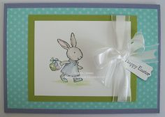 Easter card-Stampin' Up!