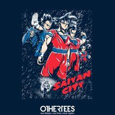 """Saiyan City"" by Faniseto T-shirts, Tank Tops, Sweatshirts and Hoodies are on…"