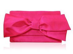 Handmade Bags   Evie - Raspberry   Bridesmaid Clutch Bags, Bridal Handbags & Vintage Wedding Bags   Amy Elizabeth Bespoke