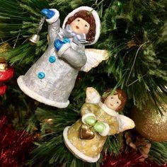Рождественские ангелки из ваты! #ватныеигрушки #happynewyear #christmas #newyear #handmade #christmastree #ручнаяработаназаказ #подарокнановыйгод #подаркиручнойработы