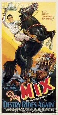 stars tom mix on pinterest vintage movie posters toms