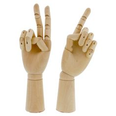 US ART SUPPLY Artist Wood Manikin Hands Pair Left and Right Hand: An excellent reference tool for both students and skilled artists. Articulated with accurately jointed fingers and wrist, it can imitate many hand gestures and poses Male Figure Drawing, Figure Drawing Reference, Guy Drawing, Anatomy Reference, Woman Drawing, Drawing Tips, Drawing Ideas, Arts And Crafts Supplies, Art Supplies