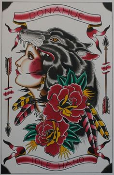 Or maybe something similar to this with a Seminole woman.