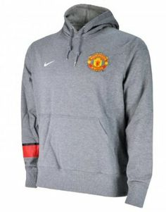 Manchester United Boys Grey Core Hoody 2012/13 by Nike. $49.75. This Manchester United Boys Grey Core Hoody is new for the 2012/13 season and ideal for any young Man Utd fan this winter to stay warm and show their team colours. The hoody is fabulous grey with an adjustable hood with a string chord that has smart metal trim. The Manchester United club crest features on the front with the Nike Swoosh stitched alongside in white. The right sleeve features a red and black band and...