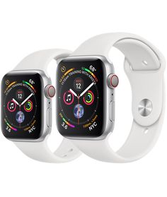 cd5f3169f93 Silver Aluminum Case with White Sport Band - - 40mm   44mm Apple Watch  Series
