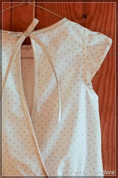 4 EN LA CARRETERA. Handmade: PATTERN E DRESS – VESTIDO PATRON E (AKIKO MANO)