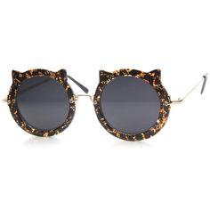7e801b0fc3 Spots Smoke Cat Eye Sunglasses