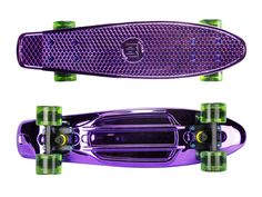 "Zycle Fix Mayhem 22"" Penny Style Skateboard (Anodized Purple)"