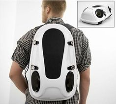 By Evan Ackerman My current housemates would absolutely love the Reppo II backpack speaker system. Read more Reppo II Backpack Speaker System Will Make People Hate You Mens Travel Bag, Travel Bags, Music Backpack, Look Fashion, Mens Fashion, Gift For Music Lover, Music Lovers, Diy Speakers, Waterproof Backpack