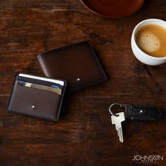Buy luxury leather accessories from Johnson Watch Co. Montblanc Belt, Wallet, Covers and Cases. Mens Leather Accessories, Luxury Pens, Pen Collection, Elegant Man, Watch Brands, Thoughtful Gifts, Leather Men, Coffee Cups, In This Moment