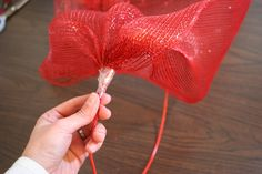 Making Wreaths with Mesh Ribbon | How to make a mesh ribbon wreath