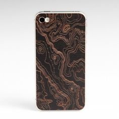 Image of iPhone wood cover topo black cherry Iphone 4, Iphone Cases, Digital Fabrication, What A Girl Wants, Apple Products, Tech Gadgets, Wonderful Things, Tech Accessories, Cool Stuff