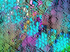 Y-Knot Blog: GIMP mosaics and rainbow pencils