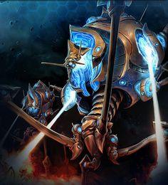 Colossus · StarCraft 2 Concept 2