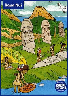 pueblos originarios de Chile Teaching Spanish, Teaching English, Learn English, Indigenous Knowledge, Tourism Poster, Easter Island, National Holidays, Sixth Grade, Social Studies