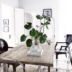 New Kitchen Green Plants Dining Rooms Ideas Kitchen Cabinets Light Wood, Kitchen Lighting Over Table, Rustic Kitchen, New Kitchen, Interior Exterior, Interior Design, Nordic Interior, Kitchen Sink Design, Sweet Home