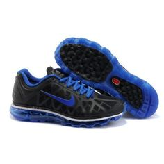 Nike Air Max Shoes, Nike Mens Shoes Cheap Nike Air Max 2011 Mens Shoes Black Blue White Red 72