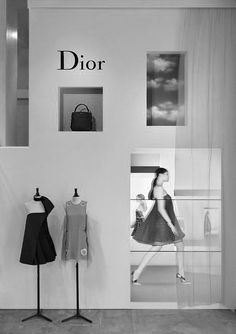 Dior pop up store