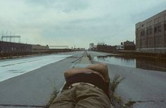 Abandoned West Side Highway, 1980s NYC, photographed by Steven Siegel