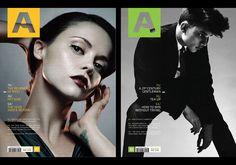 Arena Magazine designed by John Jensen