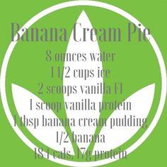 Herbalife Banana Cream Pie Shake Recipe