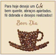 Um café bem quente!