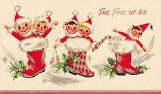 Vintage Christmas Art Postcards