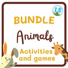 Animals - Memory game to print - Matching gameThis is a memory game to print and play! It is great to teach and learn about animals in a fun way.You will receive 13 pages. Each page has 3 pairs of animals (6 squares).The words included are:catdogbirdfishrabbitturtlesheeppigcowelephantgiraffezebrachi... English Activities For Kids, English Worksheets For Kids, Butterfly Body Parts, Picture Comprehension, House Quiz, Family Worksheet, Opposite Words, Sheep Pig, Picture Letters