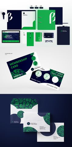 Branding: Biolosko Drustvo -  Stationary Items #branding #visualidentity #logodesign #brand #businesscard #stationerydesign
