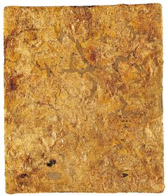 Yves Klein Monogold sans titre (MG 1960 Yves Klein, Golden Aesthetics, Nouveau Realisme, Pop Art, Monochrome Painting, Gold Texture, French Artists, Abstract Paintings, Modern Masters