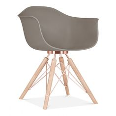 Cult Design Warm Grey Moda Armchair CD3 | Cult UK