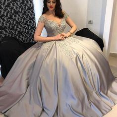 Elegant Ball Gown Off-The-Shoulder Cap Sleeves Long Prom/Evening May I ask if it's possible to still order the dress and delay the time until after the holiday when workers are less busy?