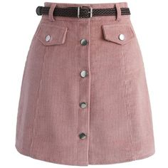 Have a mini moment in this Edgy Appeal bud skirt. The sugary pink hue, easy button-up detail and faux pockets make this simplistic skirt the perfect piece to …