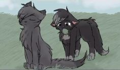 """Your not my real sister!"" Crowpaw sneered at Ravenpaw ""Your just a kittypet!""......"