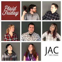 Plaid Friday's keep things interesting at JAC. What does your agency do to have a little fun? Plaid, Shit Happens, Fun, Life, Chess, Lol, Funny, Tartan