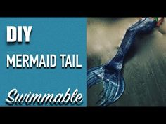 DIY Swimmable Mermaid Tail Tutorial - Silicone Mermaid Tail Tutorial - YouTube