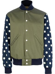 Billionaire Boys Club - Bee Line Dot Varsity Jacket