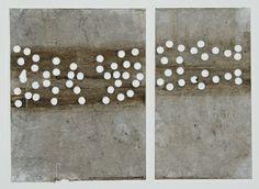 "Saatchi Art Artist Scott Bergey; Collage, ""Forty Miles Of Bad Road"" #art"
