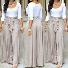 Cute Wide Leg Pants
