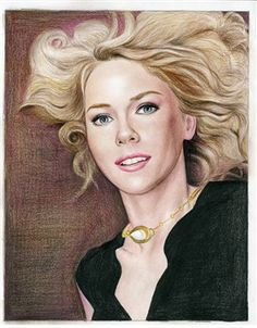Naomi Watts Color Pencil Limited Editions