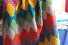 Harlequin Tapestry blanket — Mingky Tinky Tiger + the Biddle Diddle Dee