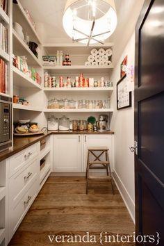 Kitchen Design with Walk In Pantry. Kitchen Design with Walk In Pantry. Walk In Pantry Kitchen Pantry Design, Kitchen Pantry Cabinets, Diy Kitchen, Kitchen Storage, Kitchen Dining, Kitchen Decor, Pantry Storage, Pantry Organization, Kitchen Ideas