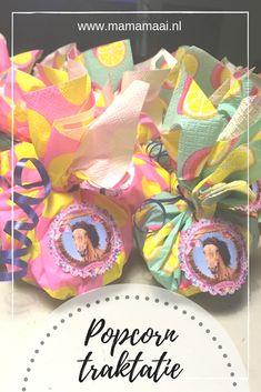 kleuter traktatie, popcorn trakteren Popcorn, Oreo, Dutch, Sweets, Cake, Party, Desserts, Blog, Kids