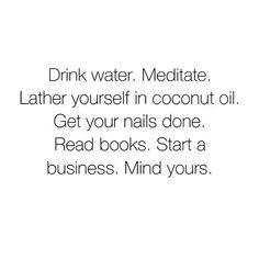 Mood this Sunday night ♀️❤️ • #meditate #coconutoil #selfcaresunday #repost #startthatbusiness #motivationalquotes #businesscoach #girlgang #sundayvibes  #Regram via @thesoulcenteredentrepreneur