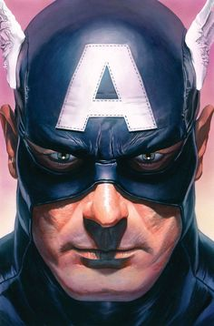 """""""""""I was a hero sent here for a murder I didn't commit. For this new world… I needed a new name."""" – Steve Rogers """" Cover art for Captain America Vol. 9 """"Captain of Nothing - Part II"""" Art by Alex Ross Marvel Dc, Marvel Comic Universe, Marvel Heroes, Marvel Characters, Captain Marvel, Capitan America Marvel, Captain America Art, Arte Dc Comics, Marvel Comics Art"""